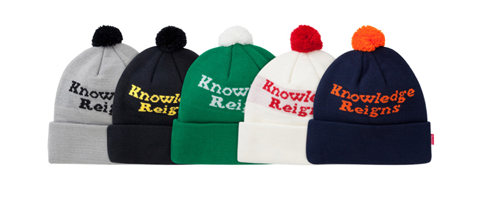 Knowledge reigns beanie